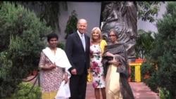 2013-07-23 美國之音視頻新聞: 拜登會見印度副總統