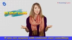 English in a Minute: To Split Hairs