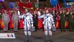 دوو ئەستێرە ناسی چینی بەرەو واڵایی ئاسمان بەڕێکەوتن