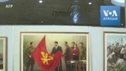 En Corée du Nord, une exposition célèbre les 75 ans du parti au pouvoir