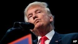 دونالد ترامپ، نامزد حزب جمهوریخواه برای ریاست جمهوری آمریکا