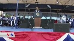 سەرۆک ئۆباما لە زانکۆی هاوەرد