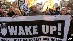 Активісти закликають до дій зі стримування зміни клімату, Катовіце