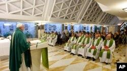 Papa Francisco hace el anuncio en el Año de la Misericordia que va del ocho de diciembre de 2015 hasta fines de noviembre de 2016.