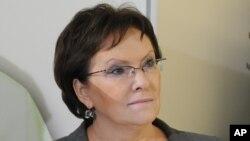 Perdana Menteri Polandia Ewa Kopacz (Foto: dok).
