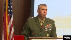 美國海軍陸戰隊部隊指揮官約翰威斯勒中將6月29日在華盛頓