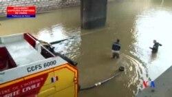 2016-06-06 美國之音視頻新聞: 巴黎洪水退卻 附近地區仍危險