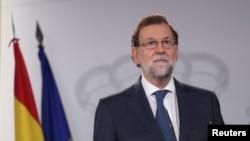 마리아노 라호이 스페인 총리.