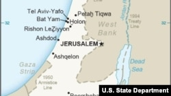 Israel Map State