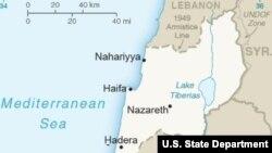 در نقشه جدید وزارت خارجه آمریکا، منطقه بلندی های جولان در شمال اسرائیل جزو خاک این کشور به حساب آمده است.