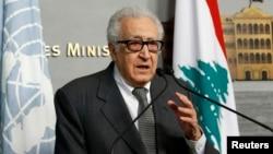 Спецпосланник генерального секретаря ООН по Сирии Лахдар Брахими (архивное фото)