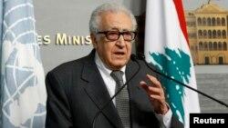 لخضر براهیمی، نماینده سازمان ملل برای صلح در سوریه
