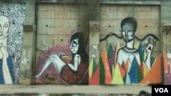 Angola Luanda grafiti