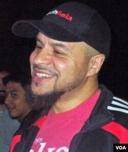 Mustafa Davis, sutradara, penulis, dan produser film, yang juga seorang muslim Amerika, tengah berada di Jakarta (24/9).