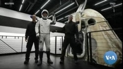 All-Civilian Space Crew Returns Home