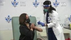 Kamala Harris primila vakcinu kompanije Moderna