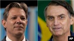 Fernando Haddad və Jair Bolsonaro