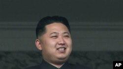 被確立為北韓政權繼承人的金正恩