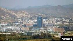 Kompleks industrial Kaesong di Korea Utara. (Foto: Dok)