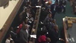 MDC Alliance Members Block Zanu PF 'Lawmaker' in Parly Debate ...
