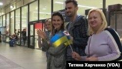 Недільного вечора українці Лос-Анджелеса вітають ветерана з прильотом