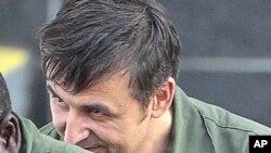 عکس آرشیوی از الکساندر فیشنکو که به اتهام جاسوسی برای روسیه در دادگاهی در آمریکا محکوم شد