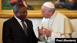 Filipe Nyusi e Francisco encontram-se esta semana em Maputo