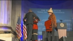 Obama Honored by Tribal Nations as 'Adopted Son'