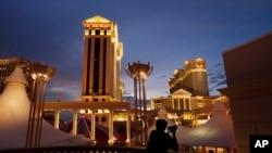 Hotel dan kasino Caesars Palace di Las Vegas.