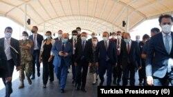 Turkey's Vice President Fuat Oktay visits Beirut