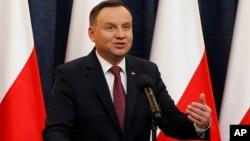 Perwakilan kelompok minoritas di Polandia menulis surat kepada Presiden Andrzej Duda (foto: dok).
