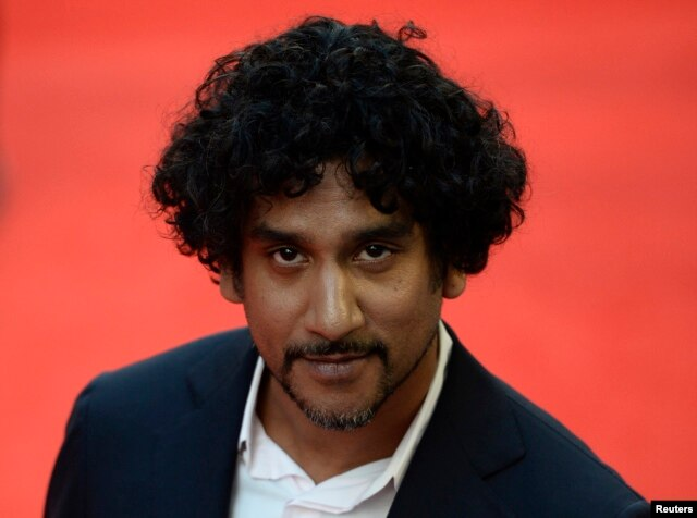 "Cast member Naveen Andrews, who plays the role of Dr. Hasnat Khan, arrives for the world premiere of ""Diana"" at Leicester Square in London, Sept. 5, 2013."
