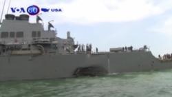 Tìm thấy xác thuỷ thủ Mỹ trên tàu USS John S McCain