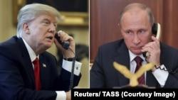 Os dois líderes falaram ao telefone