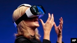 Virtual-reality headset called Gear VR