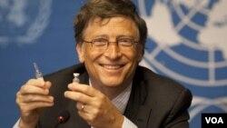 El millonario dijo que su principal meta es acabar con el polio a nivel mundial.