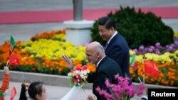 دیدار رسمی ئیس جمهوری افغانستان از چین – پکن، ششم آبان