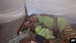Des victimes du paludisme au Congo