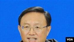 Menteri Luar Negeri Tionhgkok Yang Jiechi akan mengunjungi AS pada tanggal 3-7 Januari.