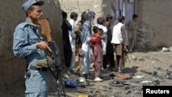 Афганский полицейский (архивное фото)