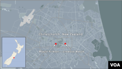 Christchurch - Mesquitas de Al Noor e Linwood