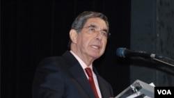 El presidente de Costa Rica, Oscar Arias Sánchez