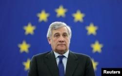 Le président du Parlement européen Antonio Tajani.
