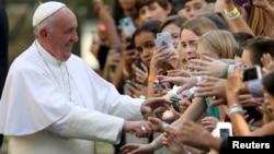 Paparoma Francis da jama'a