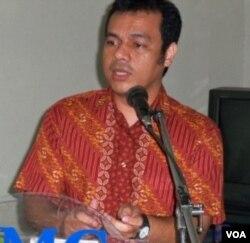 Ketua Umum Aliansi Jurnalis Independen, Nezar Patria