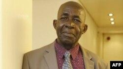 Pierre Claver Mbonimpa, défenseur des droits de l'homme, à Bruxelles, le 3 mai 2018.