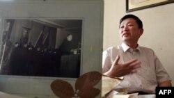"""章立凡說眾多媒體稱贊《平安經》,不料書的命運突變,""""反作用力非常之大"""",新華社、央視等官媒都開始批這本書。北京歷史學者章立凡資料照。"""
