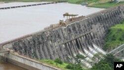 Le barrage d'Inga, en RDC