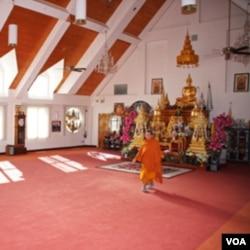 华盛顿近郊的泰国佛庙