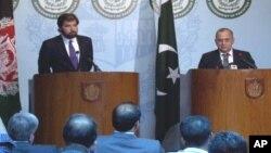 پاکستانی سیکرٹری خارجہ اور افغان نائب وزیر خارجہ کی اسلام آباد میں مشترکہ پریس کانفرنس